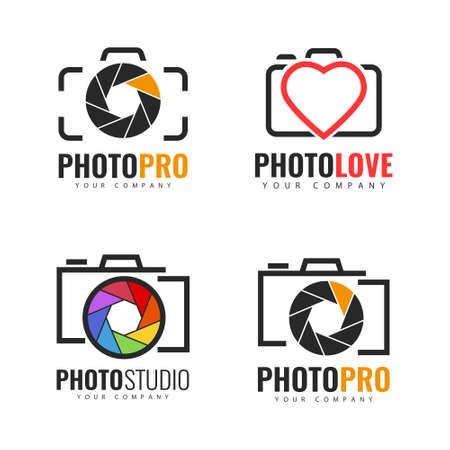 Set of  template. Photo  design. 向量圖像