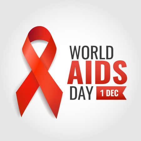 Vector illustration on the theme World Aids Day. Vector Illustration