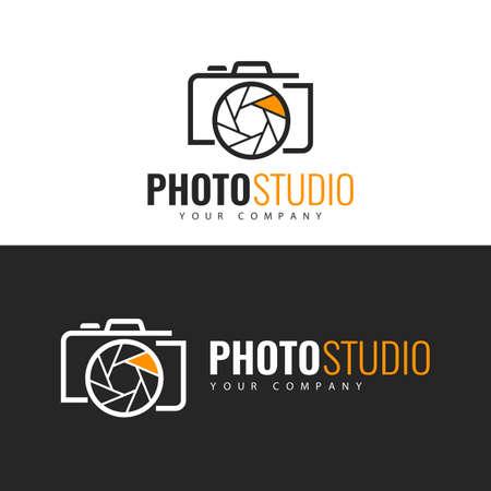 Logo template. Photo Studio Logo design.