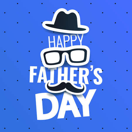 Vector Illustration of Father's day 일러스트