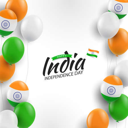 Illustration of India Independence Day.