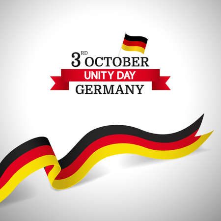 Vector Illustration of German Unity Day