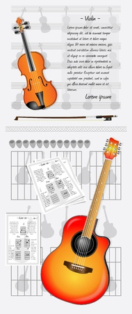duet: Learning the violin and guitar
