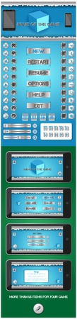 graphical user interface: graphical user interface for games 2