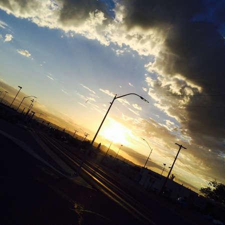 hope: Sunrise Stock Photo