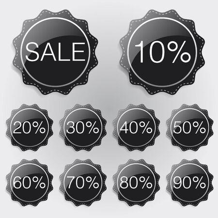 lable: Discount Lable black theme