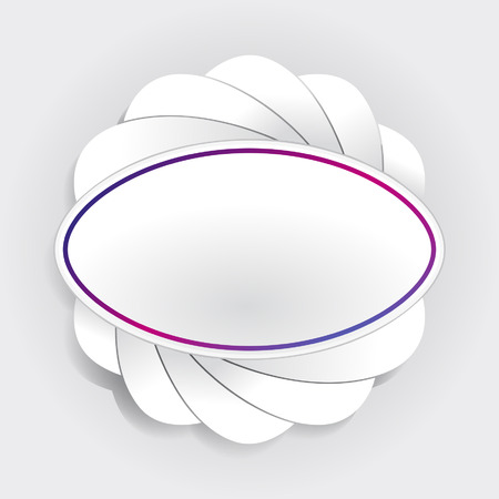 lable: Blank Lable Minimal Design