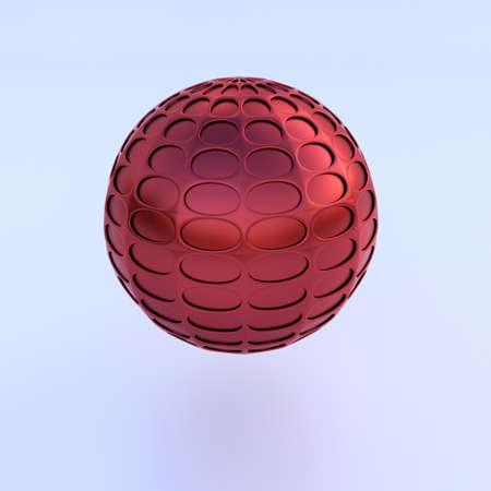 3D kavram illüstrasyon. Kalite yumuşak gölge ile vermekteyiz.