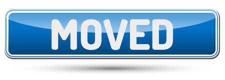 MOVED - Abstract beautiful button with text. Illustration