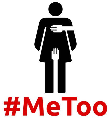 Sexual Harassment - #MeToo Illusztráció