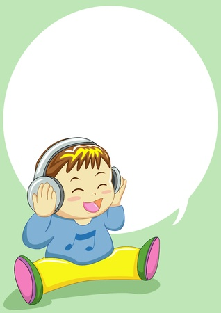 baby singing can use for input text in  blank space