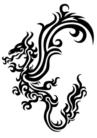 fortune graphics: dragon tattoo