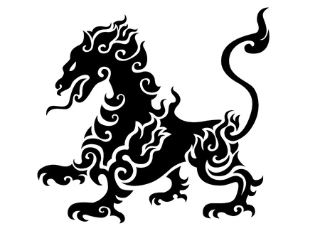 tiger tattoo Stock Photo - 10432569