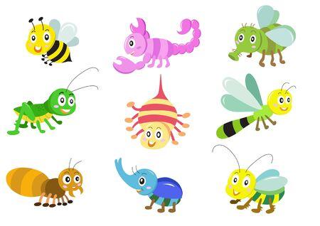 beetles: Funny cartoon