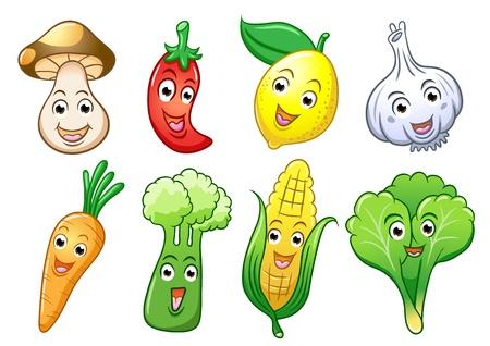 seta: Verduras