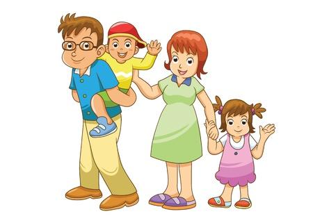 Familie Stockfoto - 20660351