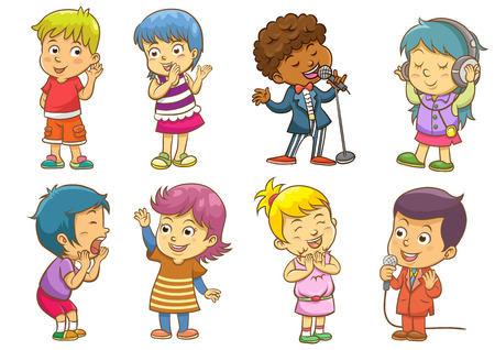 set of child activities routines.EPS10 File  simple Gradients, no Effects, no mesh, no Transparencies.All in separate group for easy editing. Illustration