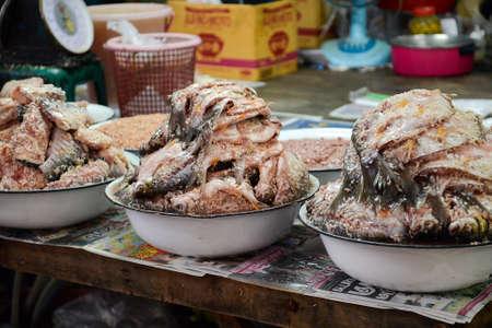 pla: Thai-style Pickle fish (or Pla Som)