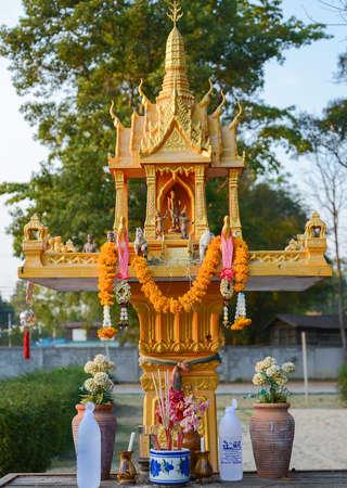 house of god: Shrine of the household god ( Joss house) Stock Photo