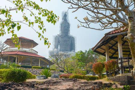 rom: Mukdahan, Thailand - February 22, 2016 : Wat Phu Manarom temple, Mukdahan, Thailand