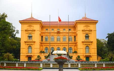 Presidential Palace in Hanoi, Vietnam