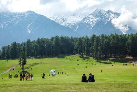 Pahalgam Valley in Kashmi, India