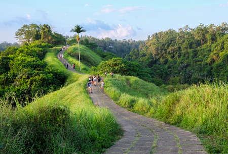 Campuhan 릿지 워크 (Bali), 발리 우드 (Ubud Bali)의 시닉 그린 밸리 (Sten Green Valley)