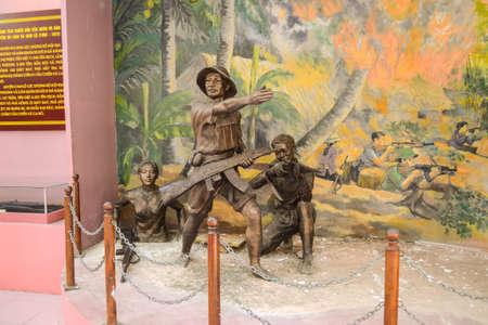 Quang Tri, Vietnam - Nov 23, 2018 : Museum of Vinh Moc
