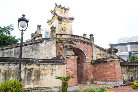 Dong Hoi, Vietnam - Nov 24, 2018 : Ancient Citadel of Dong Hoi at Dong Hoi city, Quang Binh Province, Vietnam Stock Photo - 115418746
