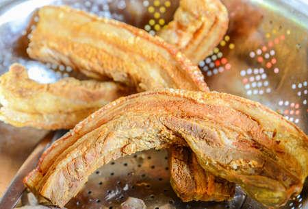 Crispy pork, Asian food, Chinese style food Zdjęcie Seryjne