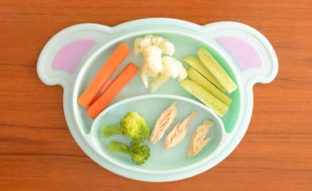 Posiłek Baby Led Odsadzenie (BLW) dla dziecka