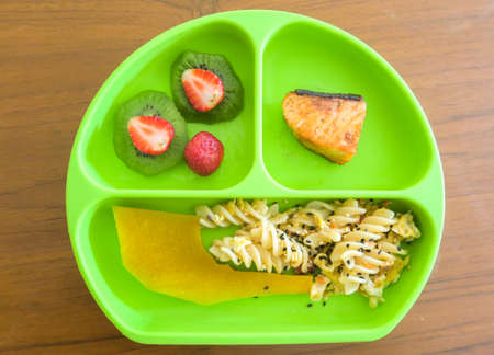 Baby Led Weaning (BLW) meal for Baby eating