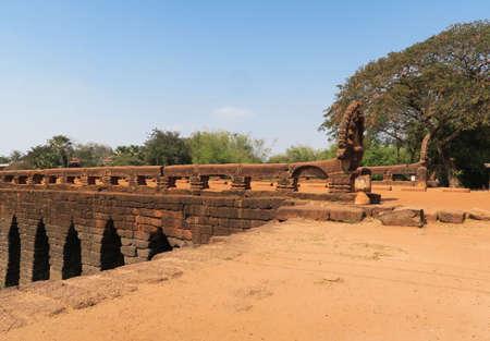 Preah Tis Bridge? in Kampong Kdei town, Cambodia