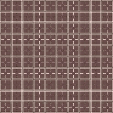 Seamless asian pattern with geometric elements