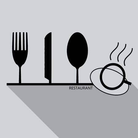 Cutlery Design  vector illustration.