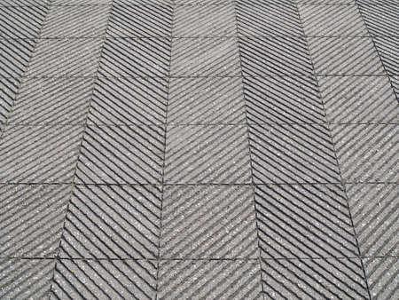 A tiled ground with lines