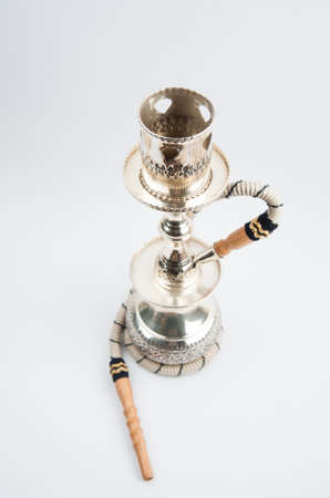 copper coated: Silver Coated Copper Hookah