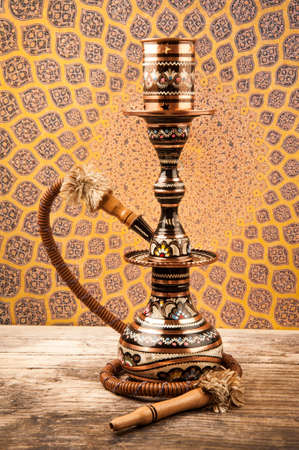 turkish ethnicity: Traditional Copper Hookah