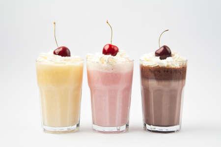 Whipped Cream Milkshakes