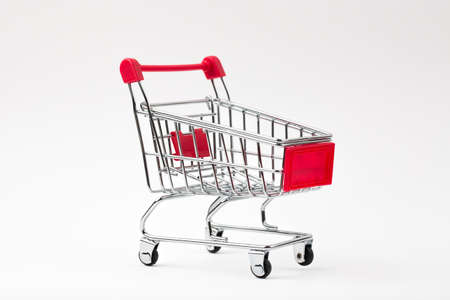 shopping cart: Isolated Shopping Cart