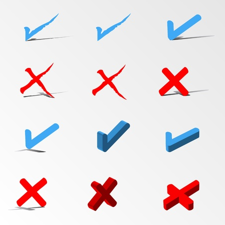 check icon set Vector