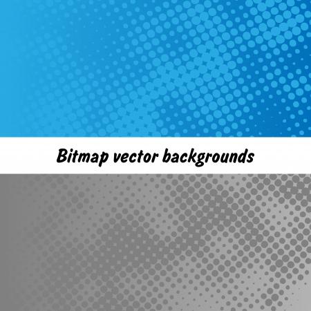 Vector raster bitmap background set