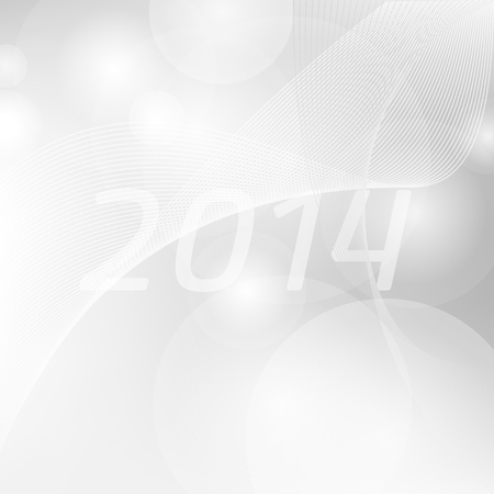 Luxury template for christmas or new years annual greeting card