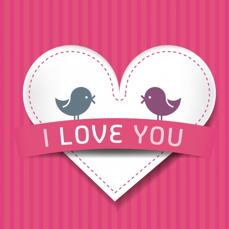 lovebirds: Love card