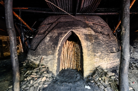 incinerator: Mangrove Incinerator Stock Photo