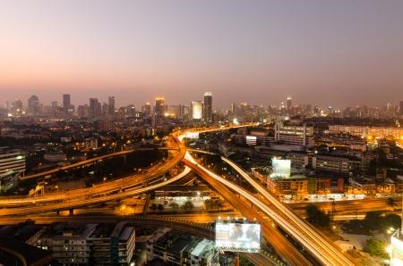 Express way in Bangkok ,Thailand photo