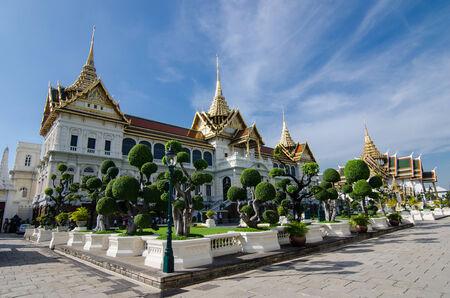 grand palace: The Grand Palace in Bangkok Thailand
