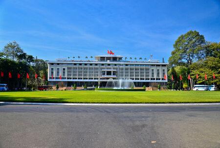 Presidential Palace ,Saigon ,Vietnam Editorial