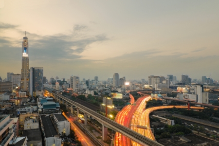 Express way in Bangkok