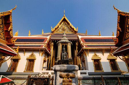 ascetic: Anchorite in Wat Phra kaew